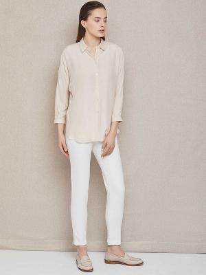 Блуза женская Charuel. Цвет: молочный