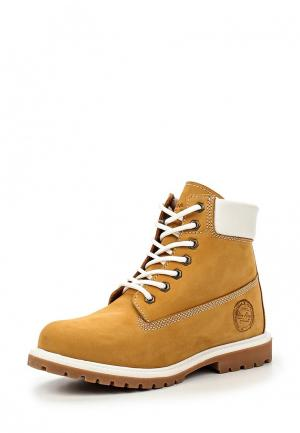 Ботинки Dino Ricci. Цвет: желтый