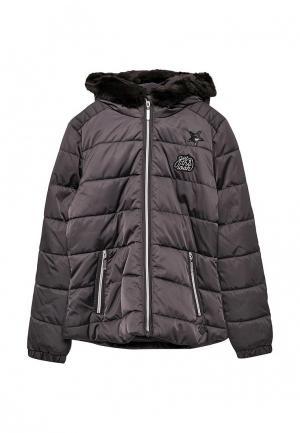 Куртка утепленная s.Oliver. Цвет: серый