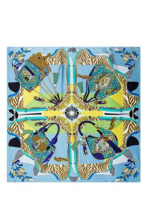 Шелковый платок 183387 Moltini. Цвет: разноцветный