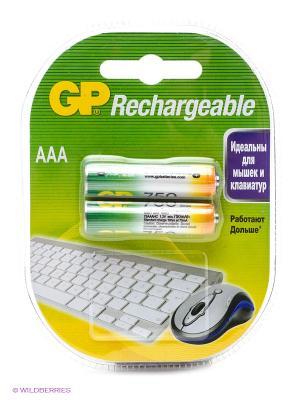 Аккумулятор NiMH 75AAAHC 750mAh AAA GP. Цвет: серебристый