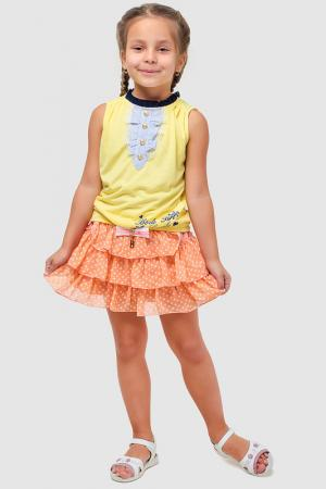 Юбка Bodi Bear. Цвет: оранжевый