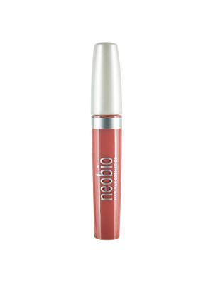 Блеск для губ 01 натурально- розовый Neobio. Цвет: розовый