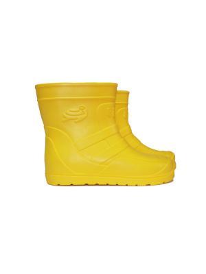 Сапоги Tilla. Цвет: желтый