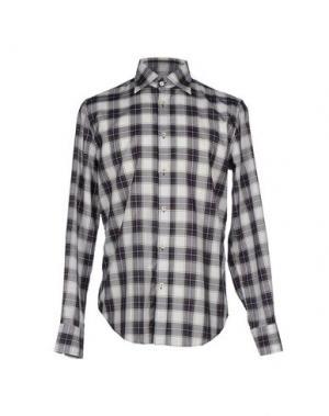 Pубашка CARLO CHIONNA. Цвет: белый