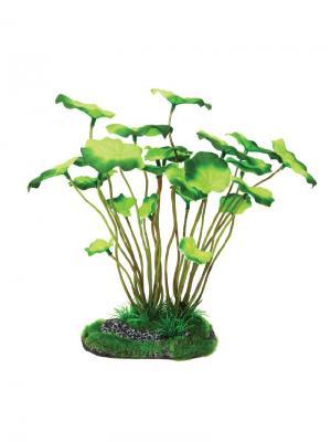 Растение для аквариума 25см. LAGUNA. Цвет: зеленый
