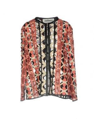 Легкое пальто CABAN ROMANTIC. Цвет: коралловый
