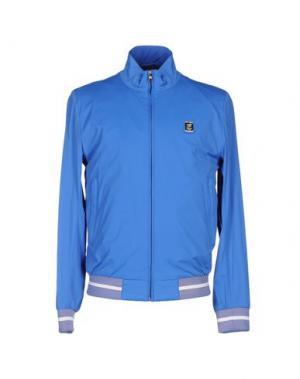 Куртка PIERO GUIDI. Цвет: лазурный