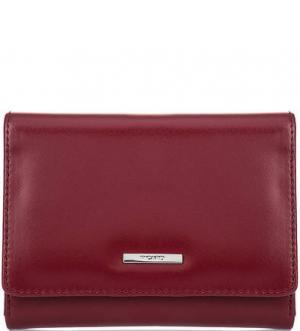 Красный кошелек из гладкой кожи Picard. Цвет: красный
