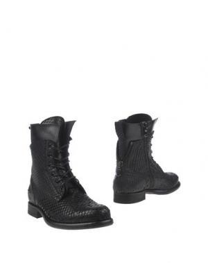 Полусапоги и высокие ботинки SEBOY'S. Цвет: черный
