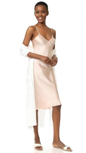 Платье-комбинация Hallie Emerson Thorpe. Цвет: розовый