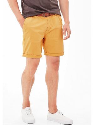 Бермуды S.OLIVER. Цвет: желтый