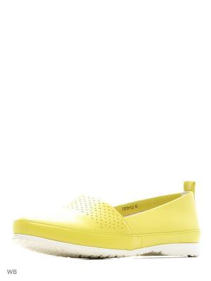 Слипоны Sinta Gamma. Цвет: желтый