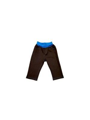 Брюки Yallo Kids. Цвет: коричневый