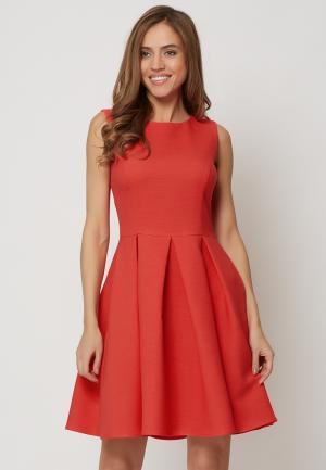 Платье Alex Lu. Цвет: коралловый