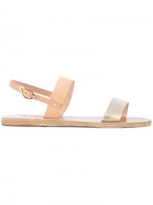 Сандалии Clio Ancient Greek Sandals. Цвет: телесный