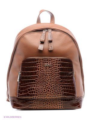 Рюкзак Afina. Цвет: светло-коричневый