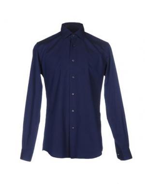 Pубашка FABIO MODIGLIANI. Цвет: темно-синий