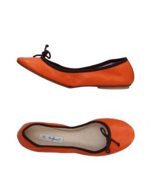 Балетки BAGLLERINA. Цвет: оранжевый