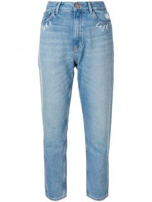 Джинсы Mimi Jean от Hilda Sandstorm Mih Jeans. Цвет: синий