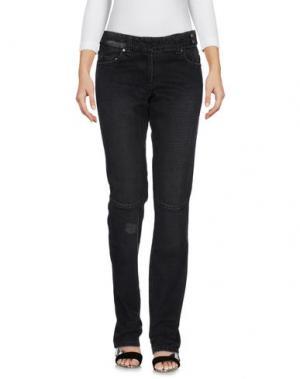 Джинсовые брюки PEUTEREY. Цвет: черный