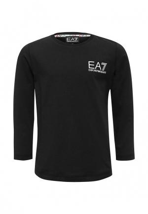 Лонгслив EA7. Цвет: черный