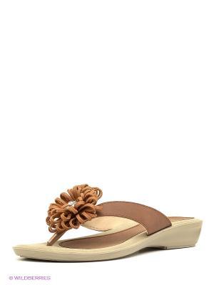Пантолеты MUYA. Цвет: светло-коричневый