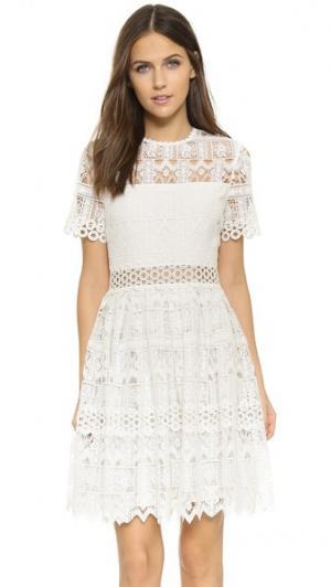 Платье Lula Alexis. Цвет: белый