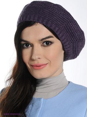 Берет Ваша Шляпка. Цвет: лиловый