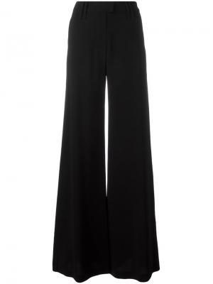 Расклешенные брюки Plein Sud. Цвет: чёрный