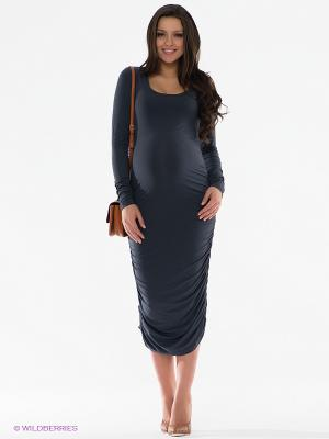 Платье Isabella Oliver. Цвет: серый