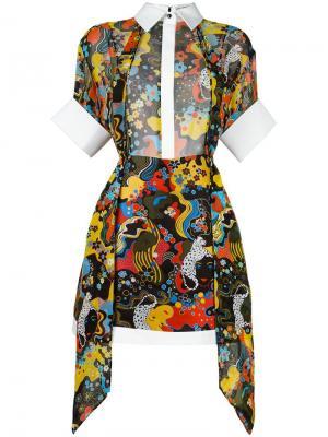 Платье Hayward Mary Katrantzou. Цвет: чёрный