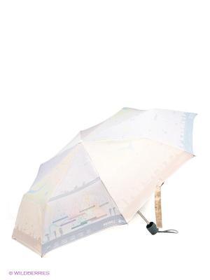 Зонт женский механика Fulton. Цвет: светло-голубой