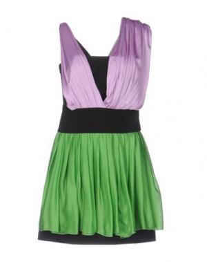 Короткое платье FAUSTO PUGLISI. Цвет: сиреневый