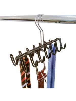 Вешалка-органайзер для галстуков Artmoon SHIVA. Цвет: серебристый