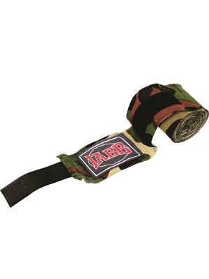 Бинты боксерский JE-3030 Jabb. Цвет: серый, зеленый