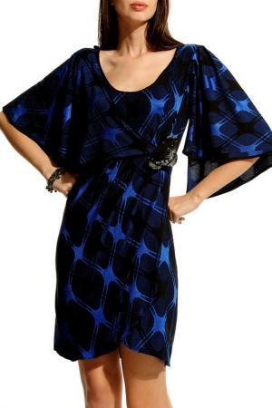Платье JUS DE POMMES. Цвет: синий