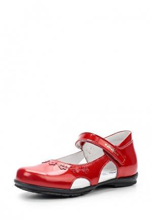 Туфли Totta. Цвет: красный
