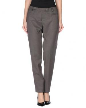 Повседневные брюки GERMANO ZAMA. Цвет: свинцово-серый