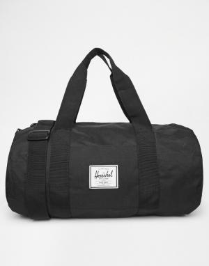 Herschel Supply Co Спортивная сумка среднего размера на 22 литра Sutto. Цвет: черный