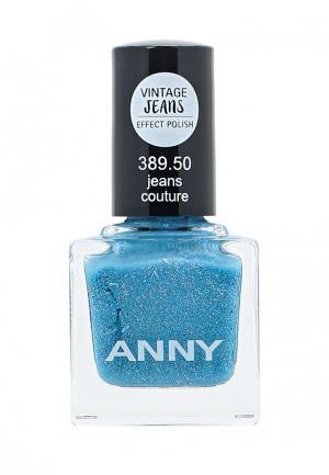 Лак Anny. Цвет: голубой