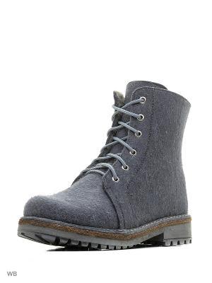Ботинки ФОМА. Цвет: светло-серый