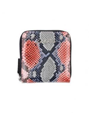 Бумажник LA CARRIE BAG. Цвет: коралловый
