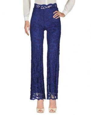 Повседневные брюки OLVI'S. Цвет: синий