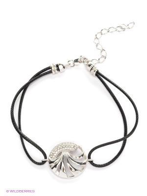 Браслет Lovely Jewelry. Цвет: серебристый, черный