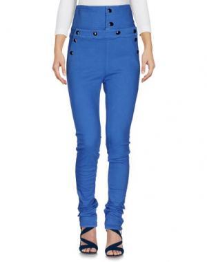 Джинсовые брюки DON'T CRY. Цвет: лазурный