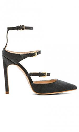 Туфли на каблуке The Mode Collective. Цвет: уголь