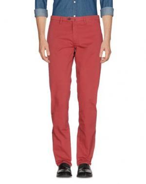 Повседневные брюки NEW ENGLAND. Цвет: красно-коричневый
