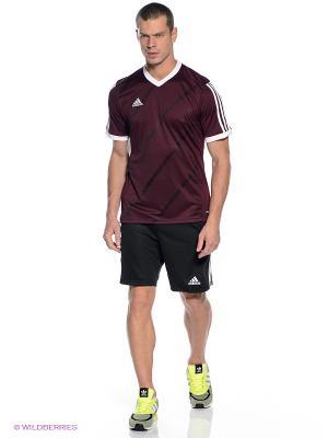 Шорты TIERRO13 GK SHO Adidas. Цвет: черный, белый