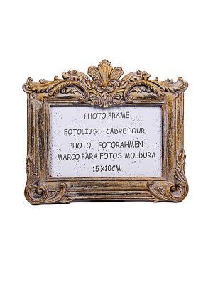 Фоторамка 20*17*1,5см PATRICIA. Цвет: золотистый